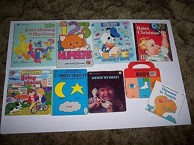 Lot of Children's Books ~ Learning Numbers, Body, Sounds, Opposites, Shapes