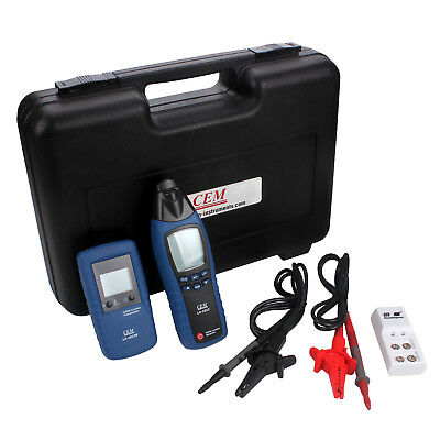 CEM LA-1012 General Cable Fault Locator Tester Meter Transmitter With Receiver