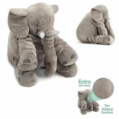 Baby Sleeping Pillow Daddy Stuffed Elephant Giant Animal Plush Soft Cuddling Toy