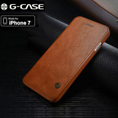 Luxury Flip G-case Leather Card Wallet Slim Case Cover For iPhone XS XR 7 Plus 8