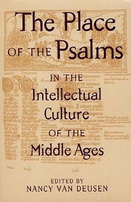 NEW RARE Psalms in Medieval Intellectual Culture Celt Anglo-Saxon Clerics Monks