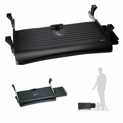 Keyboard Mouse Tray Drawer Underdesk Under Desk Sliding Mount Add On Office Home