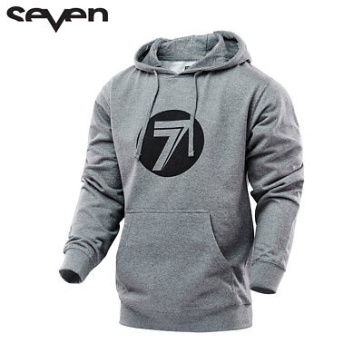 Seven mx Casual  Adult hoodie grey