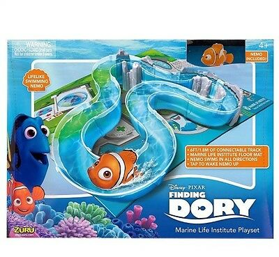 NEW Disney Pixar Finding Dory Marine Life Institute Playset