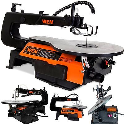 SCROLL SAW Tabletop Professional Woodworking Saw Two Direction Cuts LED Machine