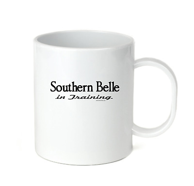 Coffee Cup Travel Mug 11 15 oz Southern Belle In Training Dixie South