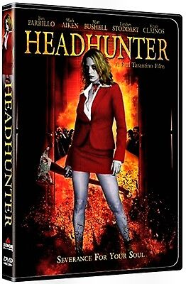 NEW HORROR DVD - HEADHUNTER - Benjamin John Parillo, Kristi Clainos, Mark Aiken,