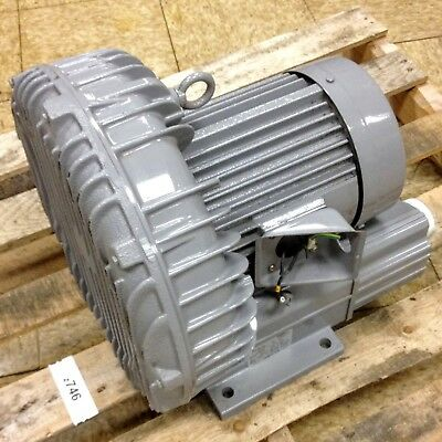 Fuji Electric VFC608AN Ring Regenerative Blower 3 Ph, Output 2.3/3.4 kW, 2 Pole.