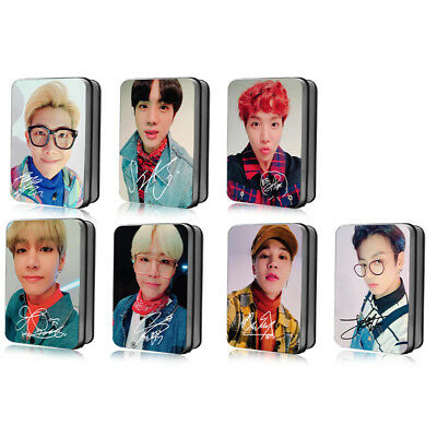 KPOP BTS BANGTAN BOYS LOMO CARD Selfie Photocard 30pcs in box SUGA JIMIN V