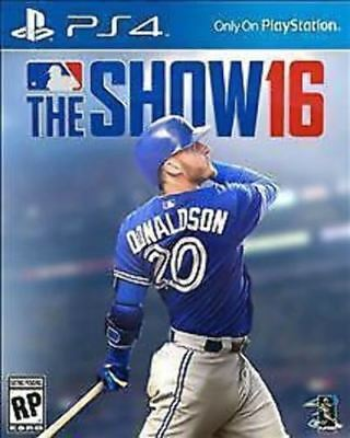 MLB The Show 16 COMPLETE Sony PlayStation 4 PS PS4 BASEBALL GAME 2K16 2016