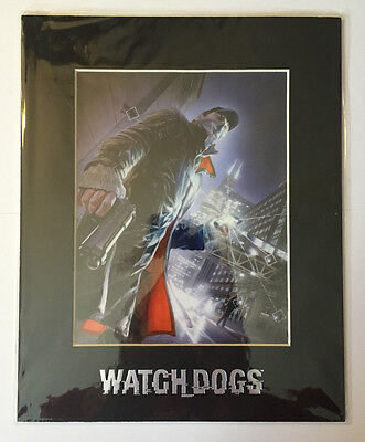 Watch Dogs Laser Cel Limited Edition Artwork Promo Alex Ross