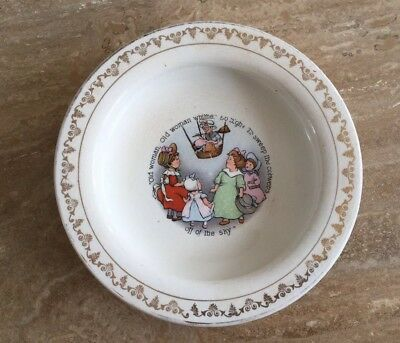 Vintage Holdfast Baby Plate