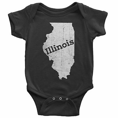 Nyc Factory Illinois Baby Bodysuit Home Shirt Nyc Factory