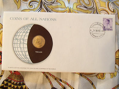 Coins of All Nations Thailand 25 Satang  1977 (2520) UNC