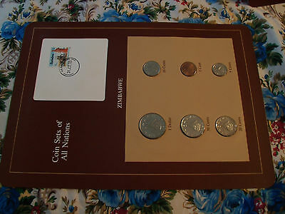 Coin Sets of All Nations Zimbabwe  1980 - 1983 UNC 12c stamp