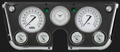 Classic White 1967-72 Chevy Gauges - Classic Instruments - CT67CW