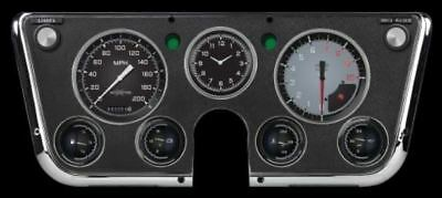 Auto Cross Grey 1967-72 Chevy Gauges - Classic Instruments - CT67AXG