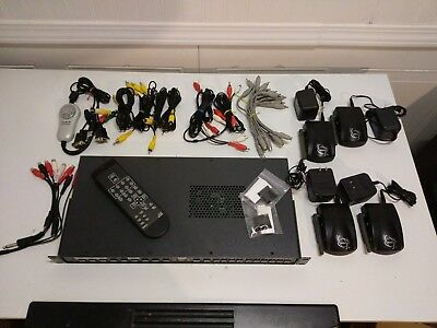 Extron 8 Input Scaling Presentation Switcher w/Remote + Accessories - IN1508