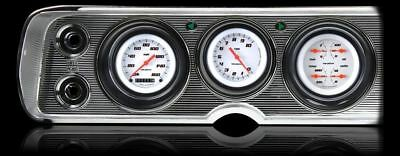Velocity Series White 1964-65 Chevelle Gauges - Classic Instruments - CV64VSW