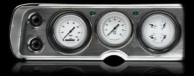 White Hot 1964-65 Chevelle Gauges - Classic Instruments - CV64WH