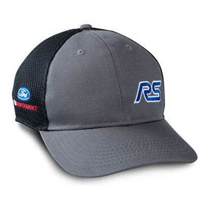 Hat Gray/Black With Blue Focus RS And Ford Performance Logos