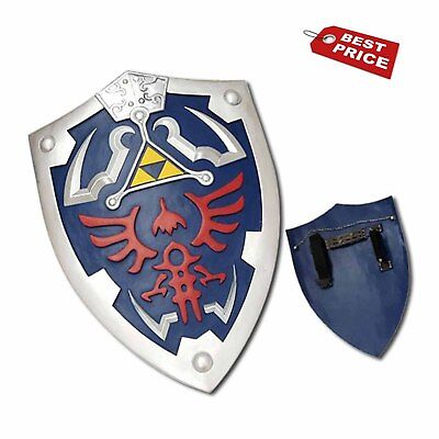 HOLIDAY SALE Full Size Link Hylian Zelda Shield with Grip & Handle *USA*2018 BIG