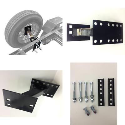 ;Wheel Mount Spare Tire Boat & Utility Enclosed Trailer Bracket Carrier