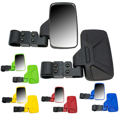 "Breakaway Side View and Rear View Mirror Combo for Side x Side UTVs 1.75"" - 2"""