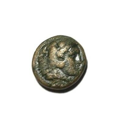 Ancient Greek, Alexander III the Great, 336 BC. Club, Bow