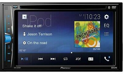 Pioneer AVH-A205BT Multimedia Player & Reverse Camera [PIONEER WARR]