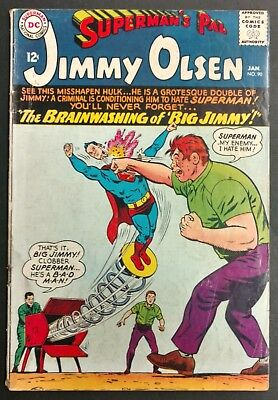 Superman's Pal Jimmy Olsen #90 1966 Solid G/vg 2 Great Stories Swan Cover