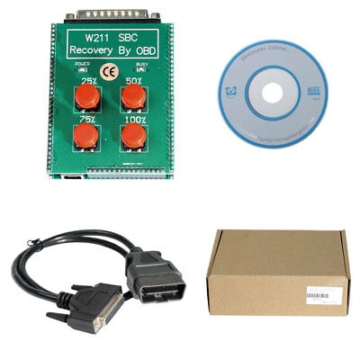 W211/R230 ABS/SBC Reset Tool Repair Code C249F Recovery By OBD for Mercedes Benz