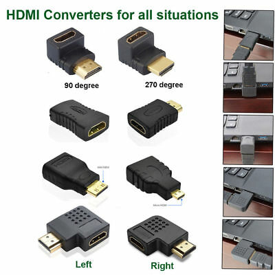 Mini Micro HDMI Cable Connector HDMI Male to Female Extension Adapter Converter