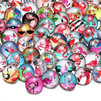 50pcs 18mm Snap Button Peace Symbol Theme Glass Charms For Snap Jewelry HM020