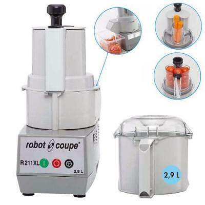 Robot Coupe R211XL Food Processor Cutter Vegetable without Discs Cafe Restaurant