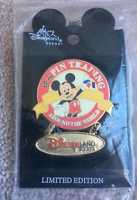 Disney Pin Trading Around the World Dangle - Disney Auctions Surprise Release