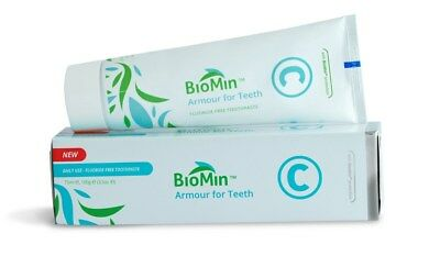 BioMin C high performance fluoride free remineralising/remineralizing toothpaste