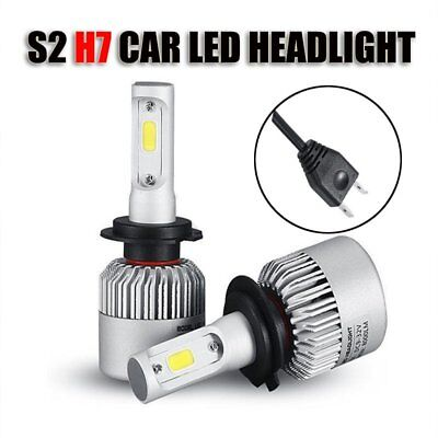 10 Sets H7 16000LM 140W LED Headlight Kit Low Beam High Power 6500K White Bulb