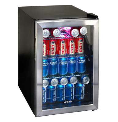 Cold Stainless Steel Energy Soft Drink Best Small Mini Beverage Fridge Cooler