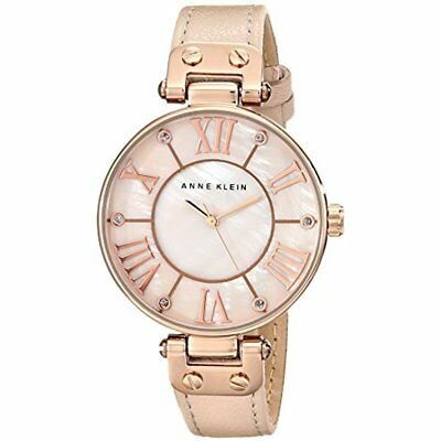 Wrist Watches Women's 10/9918RGLP Rose Gold-Tone With Leather Band