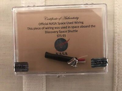 NASA Space Shuttle Mision STS-95 Flown In Space Wiring (Kabel) ***John Glenn***