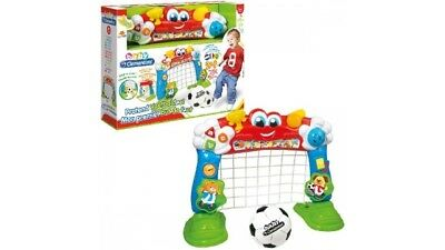 Clementoni 2in1 Voetbaldoel + Activitycenter