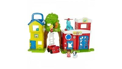 Fisher Price Little People Dierenredders Interactieve Speelset