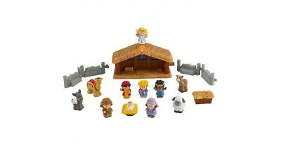 Fisher Price Little Peolple Kerststal