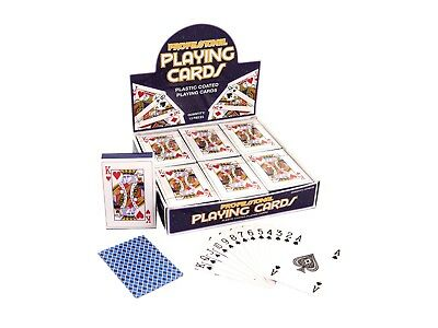 Cards Playing Plastic Coated 9 X 6cm SALE!!!!