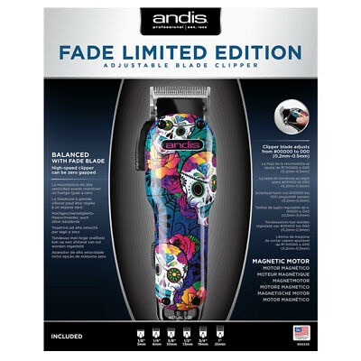 Andis Fade  Limited Edition Hair Clipper - Mens Clipper - Mens Hair Shave