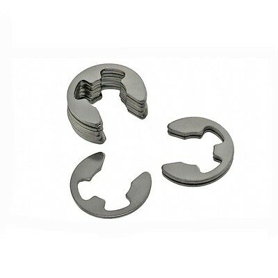 A2 304 Stainless Steel Φ15 E-Clip Snap Ring Circlip GB896