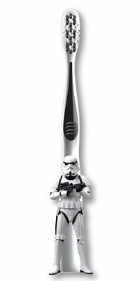 Mr White 3D Star Wars Jr Toothbrush with Protective Cap