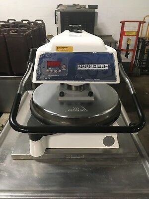 Doughpro Dp1100 Heated Dough Press Pizza Tortilla Works Great!