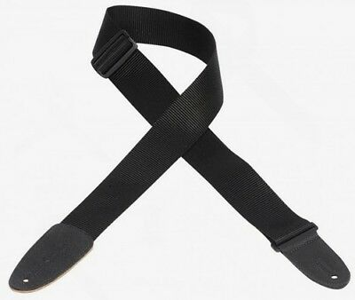 Levys M8-XL-BLK Extra Long Guitar Strap (Black)